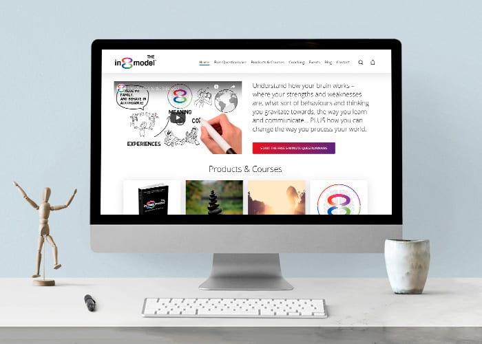 The in8model website